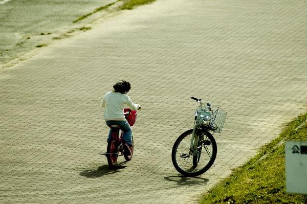子どもの自転車