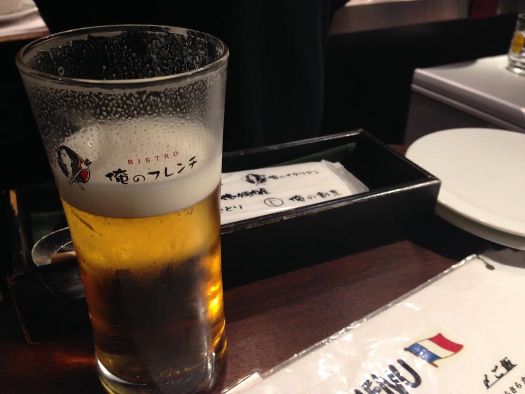 俺のフレンチ_ビール