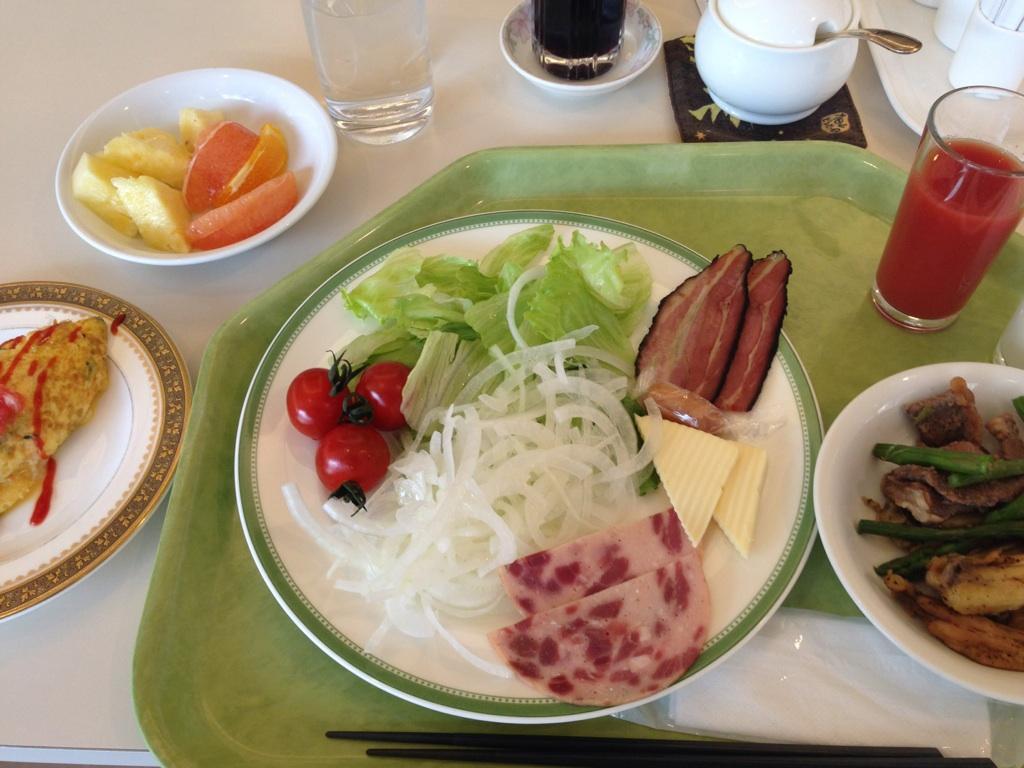 ロワジールホテル_朝食