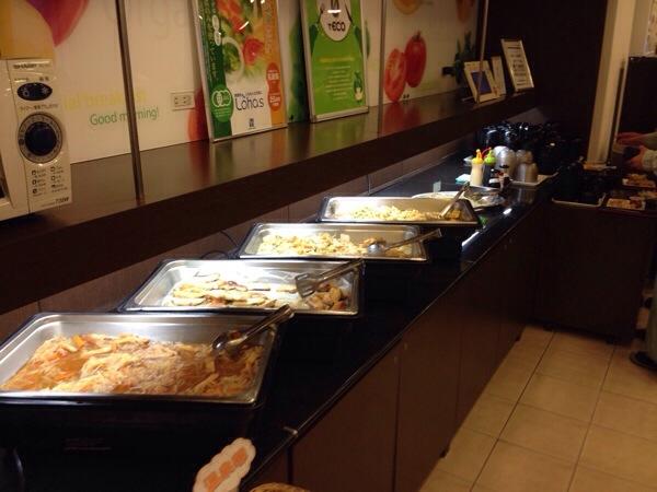 スーパーホテル朝食