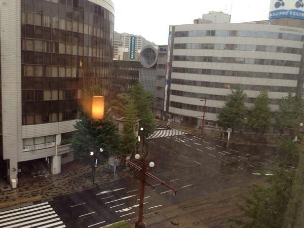 ホテル法華クラブ鹿児島_部屋からの眺め
