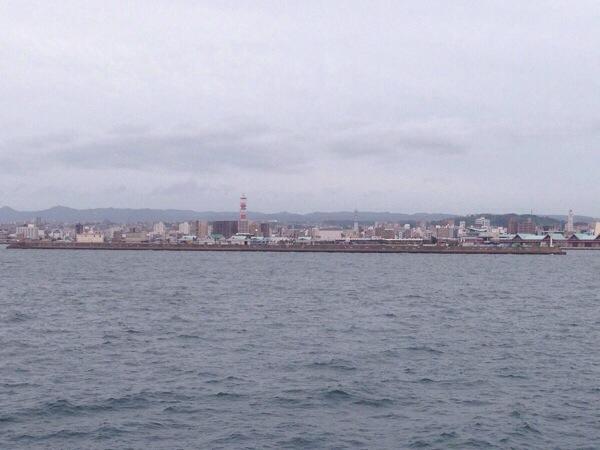 桜島フェリー_鹿児島市内
