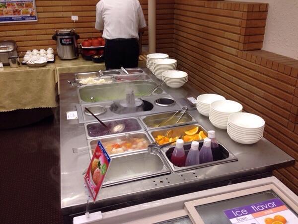 アパホテル名古屋錦_朝食サラダ