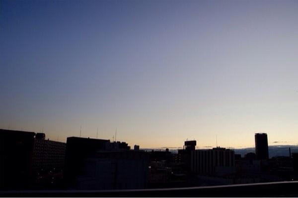早起き_朝焼け