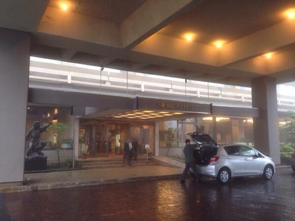 霧島いわさきホテル_エントランス