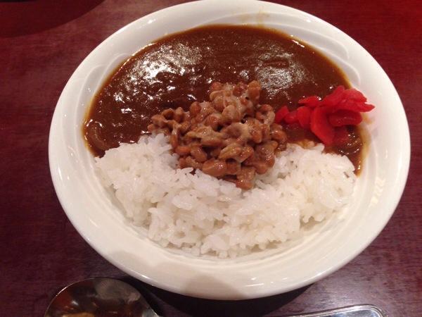 ブルーウェーブイン_納豆カレー