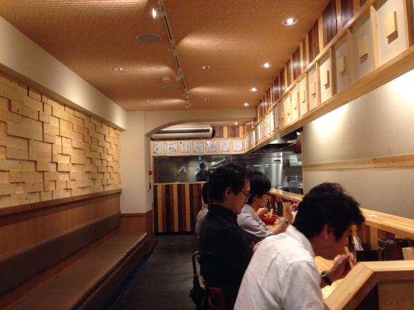 えびそば一幻-新宿-店内
