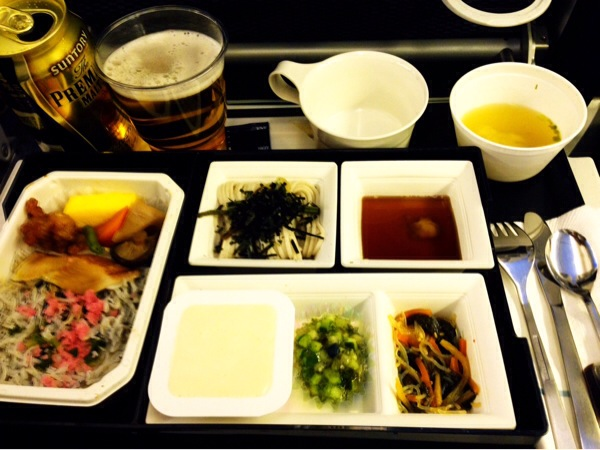 全日空機内食