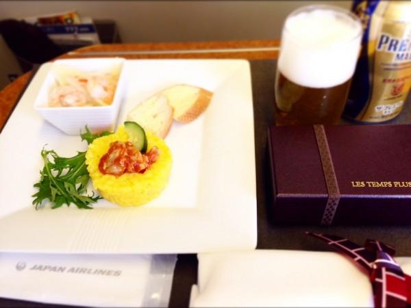 日本航空機内食