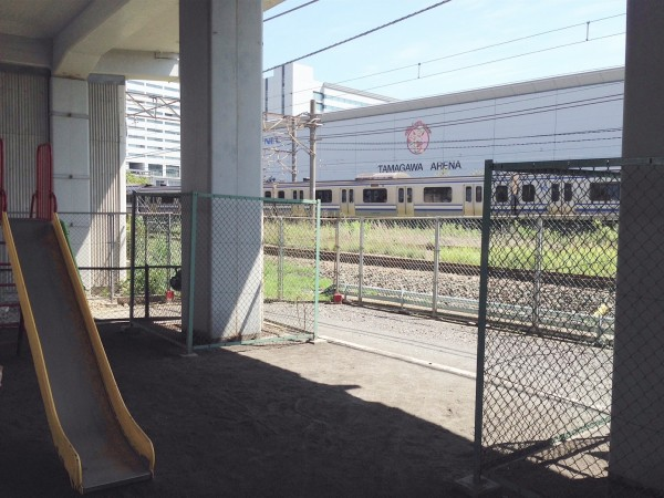 shinkansen-nakamaruko-park-train