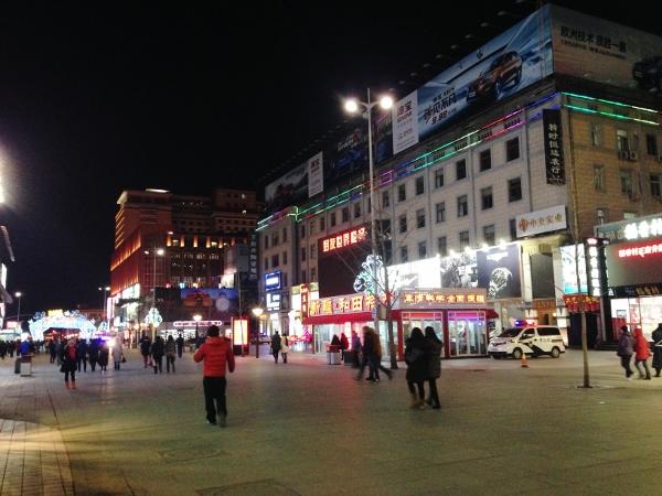 北京夜の散歩