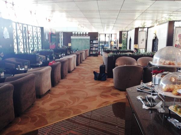 北京首都国際空港ラウンジスペース