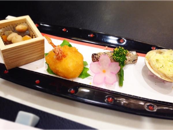阿蘇プラザホテル夕食前菜