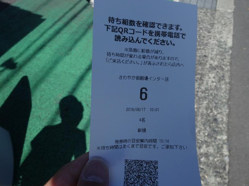 さわやか御殿場インター店6番目