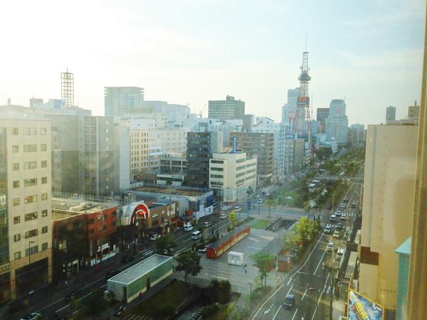 札幌東武ホテル‐部屋からの眺望