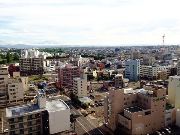アートホテルズ旭川朝食‐眺望