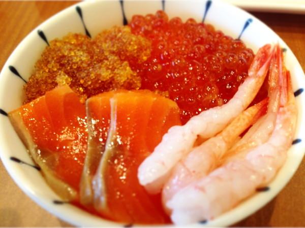 ラッソグランデ旭川朝食‐海鮮丼