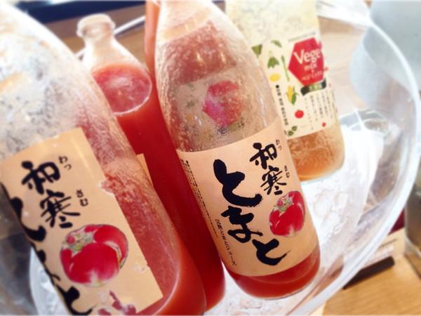 アートホテルズ旭川朝食‐トマトジュース