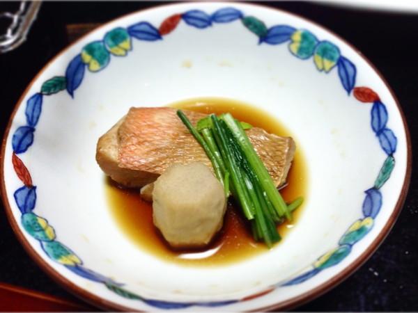 熱川館‐金目鯛煮付け