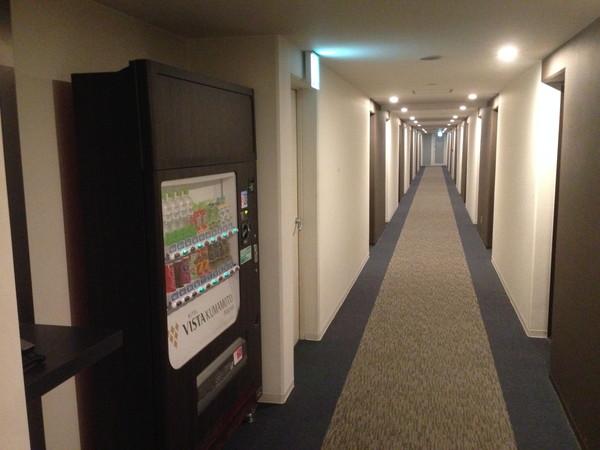 ホテルビスタ熊本空港廊下