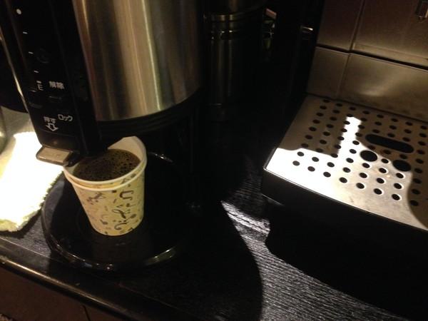 ホテルビスタ熊本空港朝食コーヒー