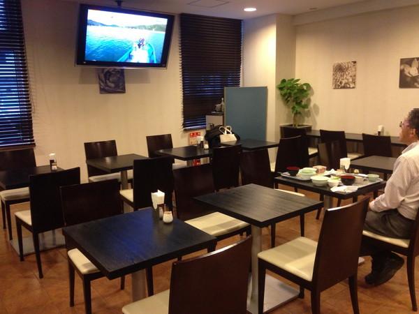 ホテルビスタ熊本空港朝食会場