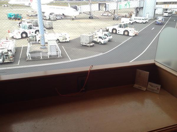 羽田空港エアポートラウンジ北-PC席