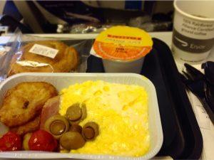 機内食-朝食