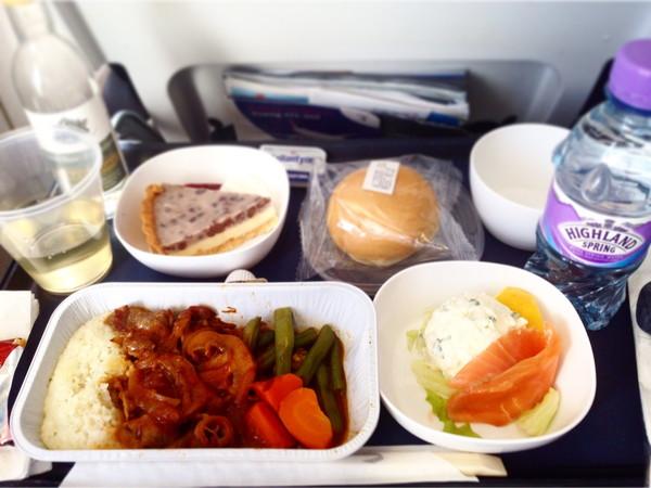 機内食‐夕食