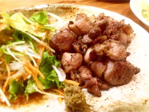 shin-shin-地鶏の炭火焼