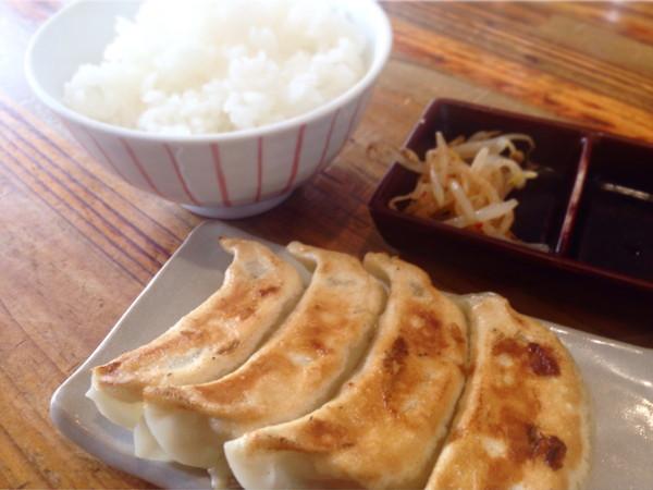 幸麺‐餃子ライスセット