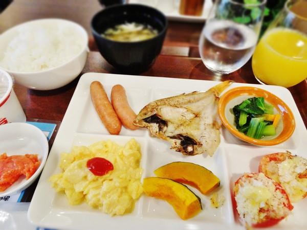 松江エクセルホテル東急朝食バイキング