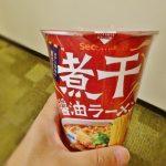 煮干醤油ラーメン‐セイコーマート