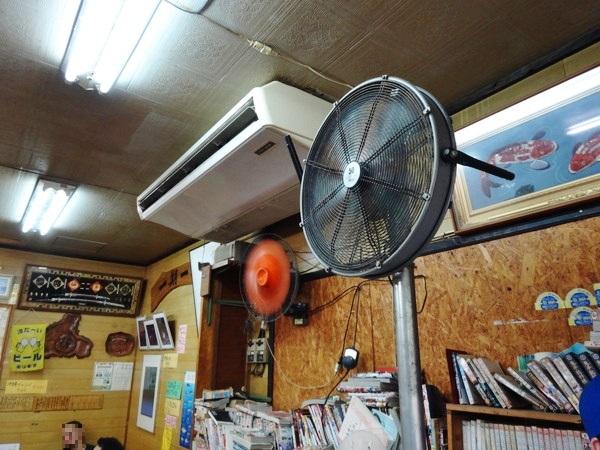なかま食堂‐扇風機