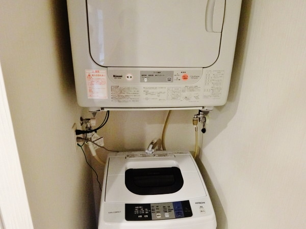 コンドミニアム‐洗濯機