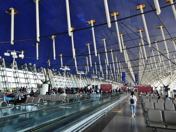 上海浦東国際空港wi-fi環境