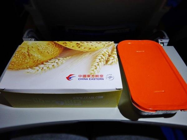 中国東方航空-機内食