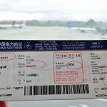 中国南方航空搭乗券
