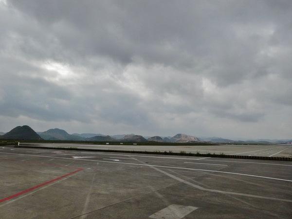 貴陽国際空港内