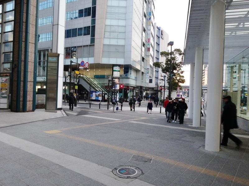 川崎駅地上