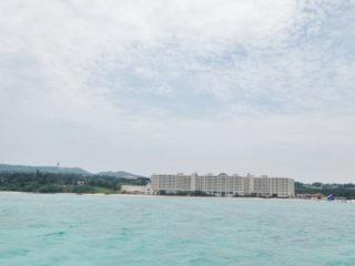 リザンシーパークホテル谷茶ベイ沖