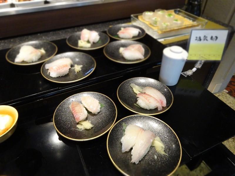 鯛の握り寿司
