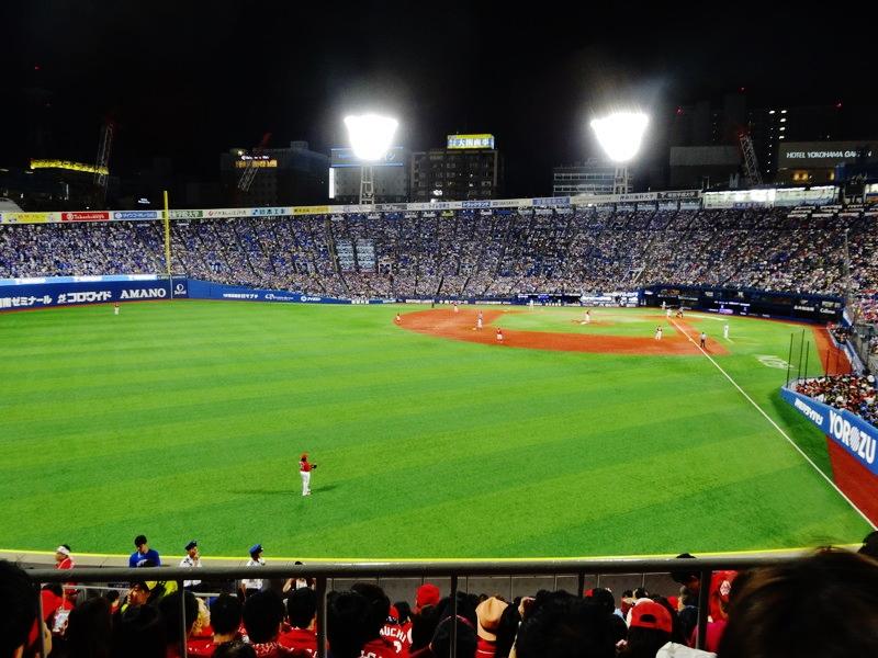 横浜スタジアムレフト側