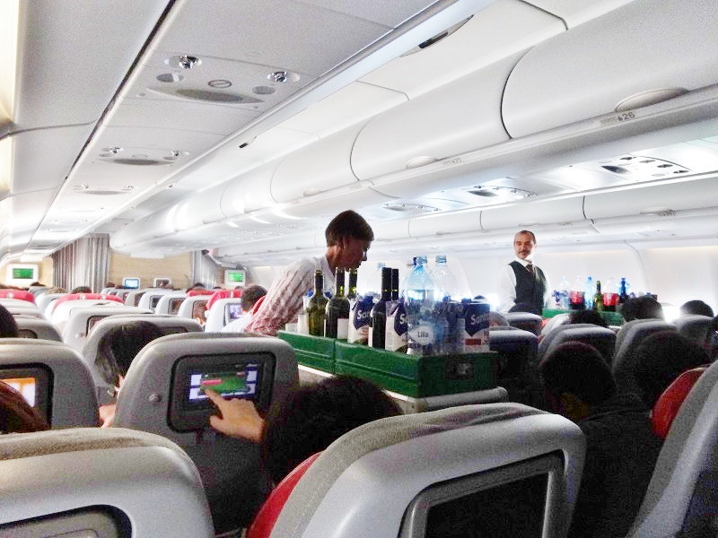 アリタリア航空飲み物