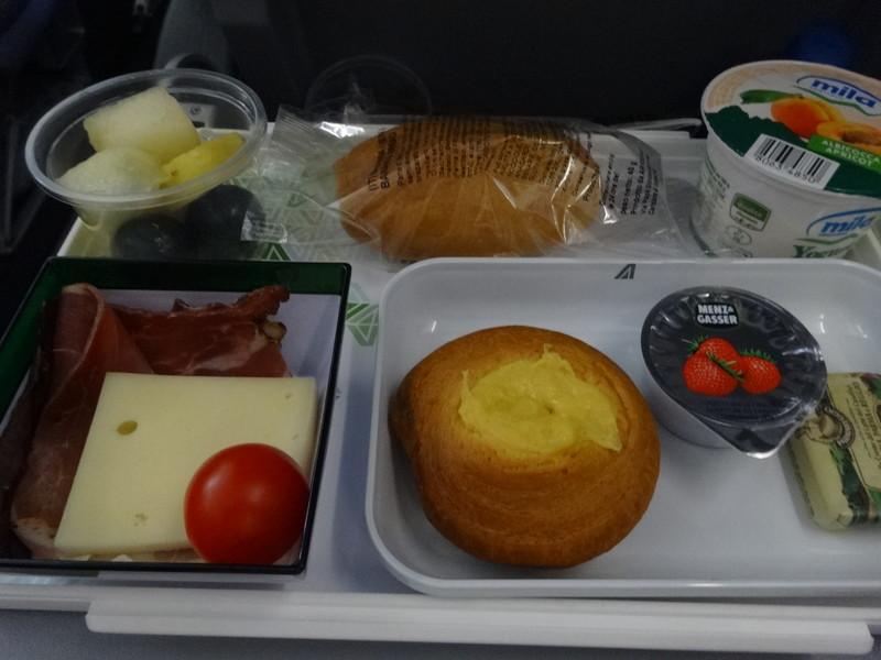 機内食-2回目