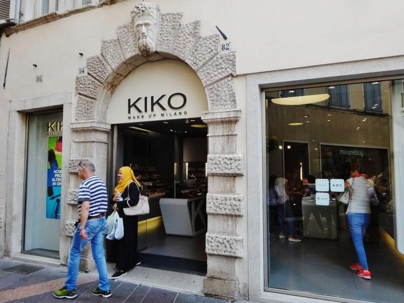 イタリアKIKO店舗