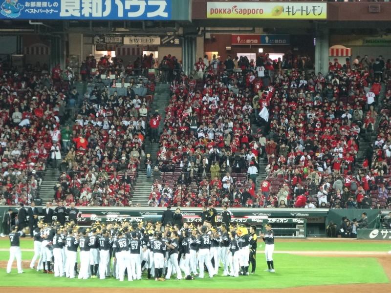日本一の胴上げ