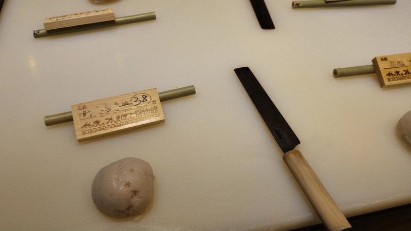 かまぼこ板と材料