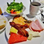 食べた朝食