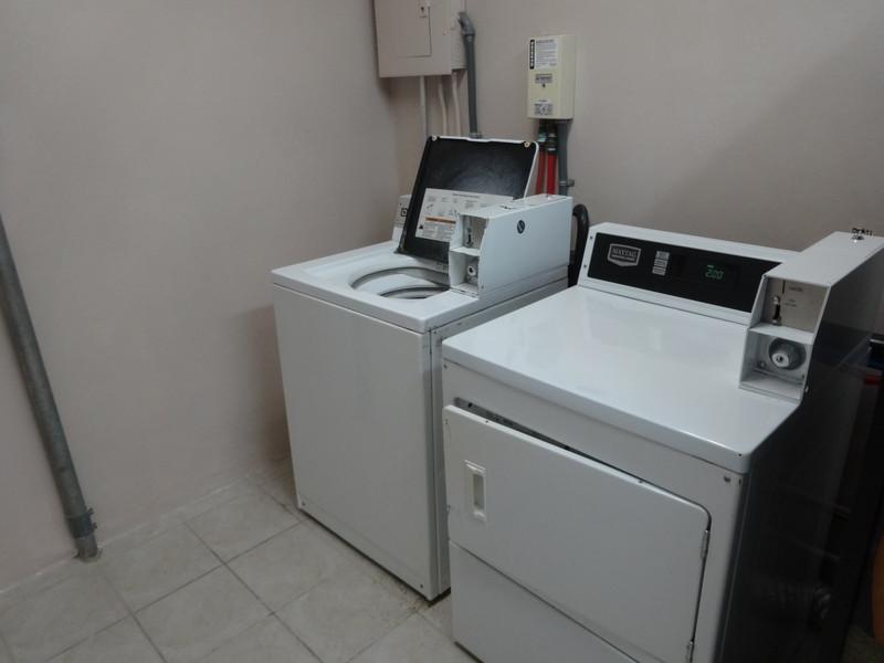 ヒルトンホテル洗濯機